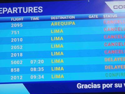 Flights Cusco